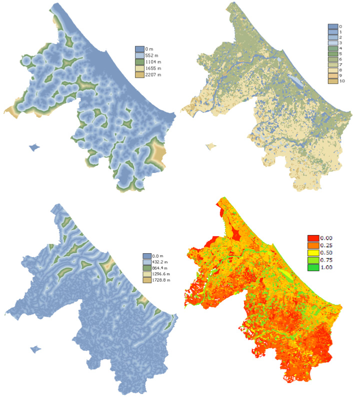 GIS, Satellite Images, data-driven and models into Web